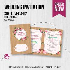 Undangan Pernikahan Tangerang A02 - Walimahanid | 081211418687