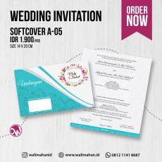 Undangan Pernikahan Tangerang A05 - Walimahanid | 081211418687
