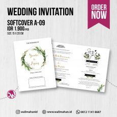 Undangan Pernikahan Tangerang A09 - Walimahanid | 081211418687