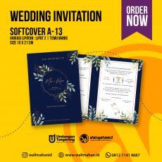 Undangan Pernikahan Tangerang A13 - Walimahanid | 081211418687