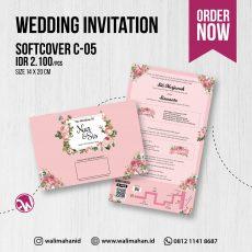 Undangan Pernikahan Tangerang C05 - Walimahanid | 081211418687
