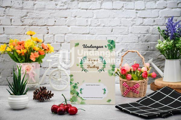 Undangan Pernikahan Tangerang A01 - Walimahanid   081211418687
