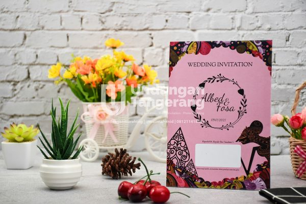 Undangan Pernikahan Tangerang C10 - Walimahanid | 081211418687