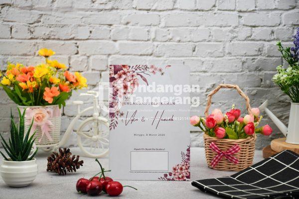 Undangan Pernikahan Tangerang A11 - Walimahanid | 081211418687