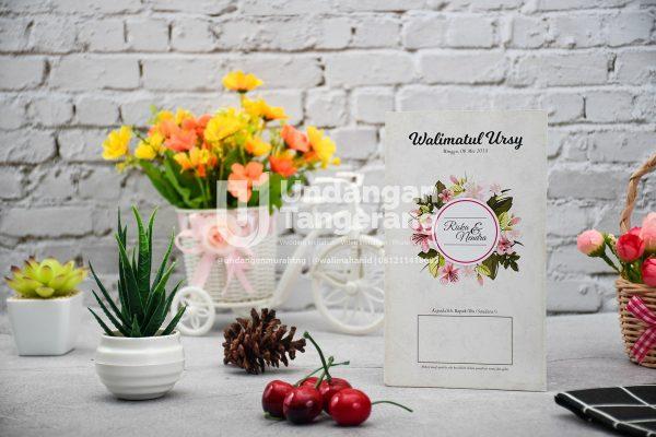 Undangan Pernikahan Tangerang C02 - Walimahanid | 081211418687