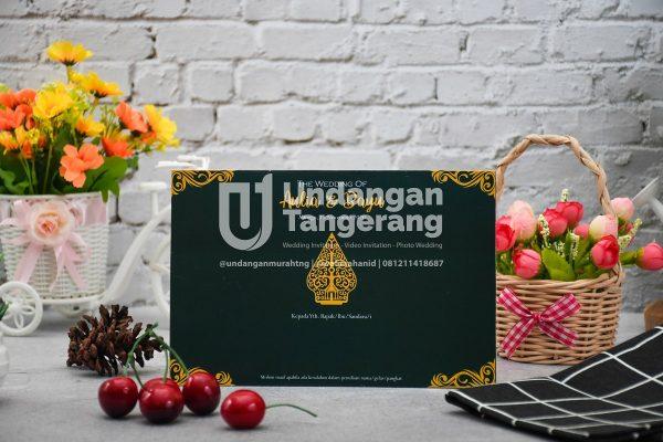 Undangan Pernikahan Tangerang C09 - Walimahanid | 081211418687