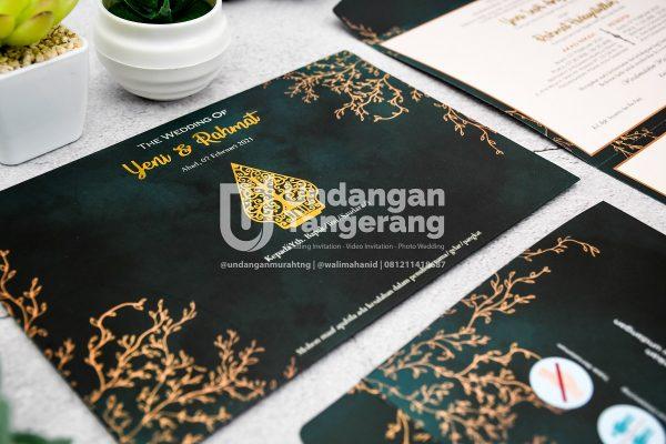 Undangan Pernikahan Tangerang C11 - Walimahanid | 081211418687