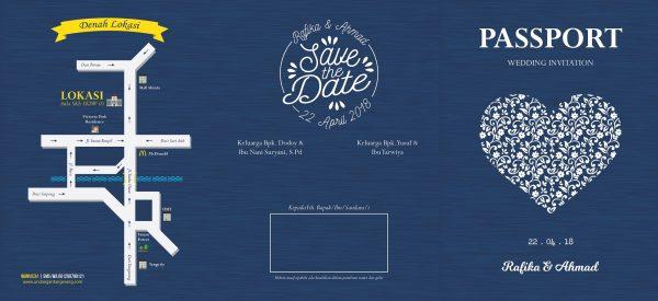 Undangan Pernikahan Tangerang C03 - Walimahanid | 081211418687